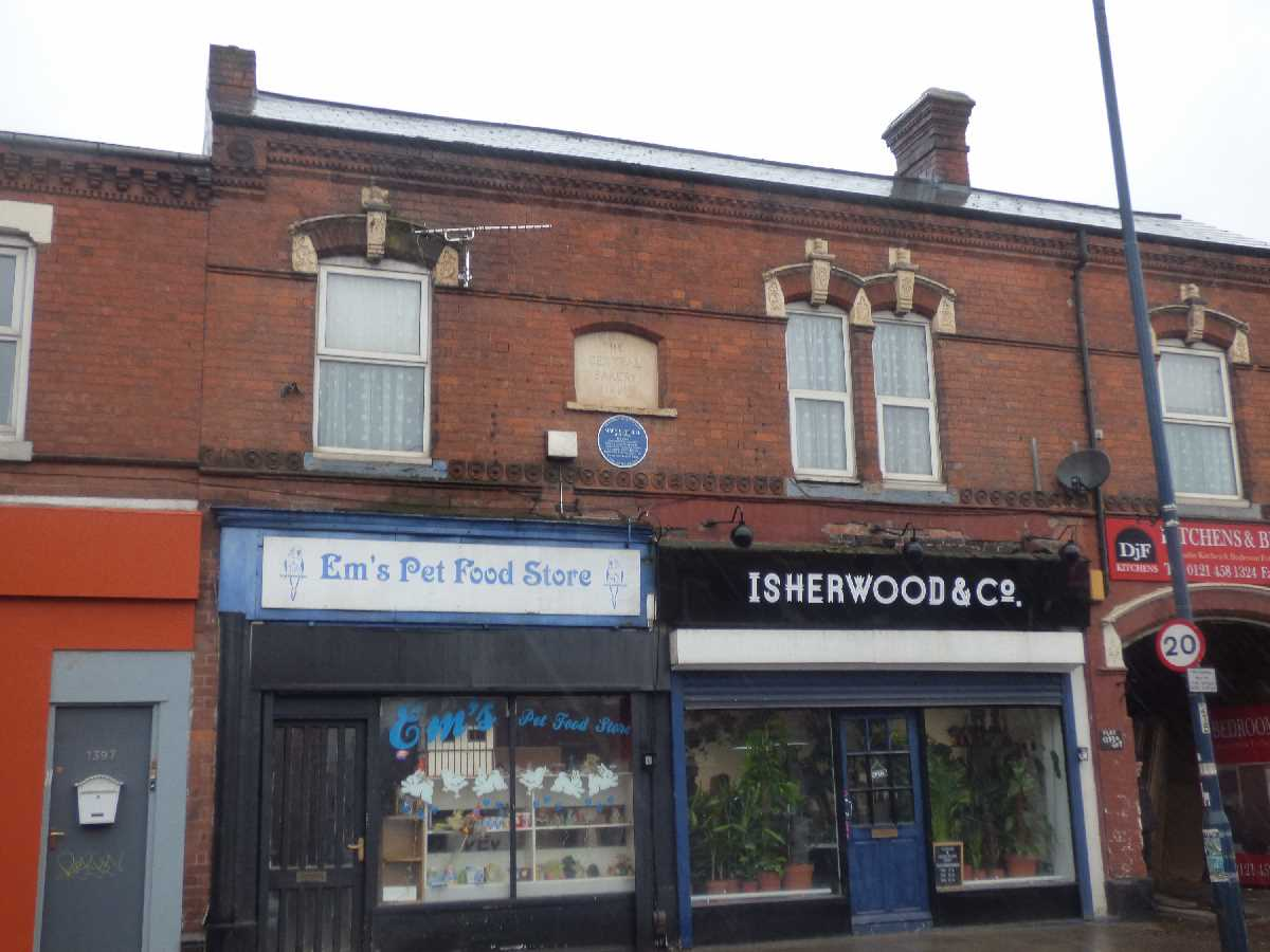 The Central Bakery - Pershore Road, Stirchley