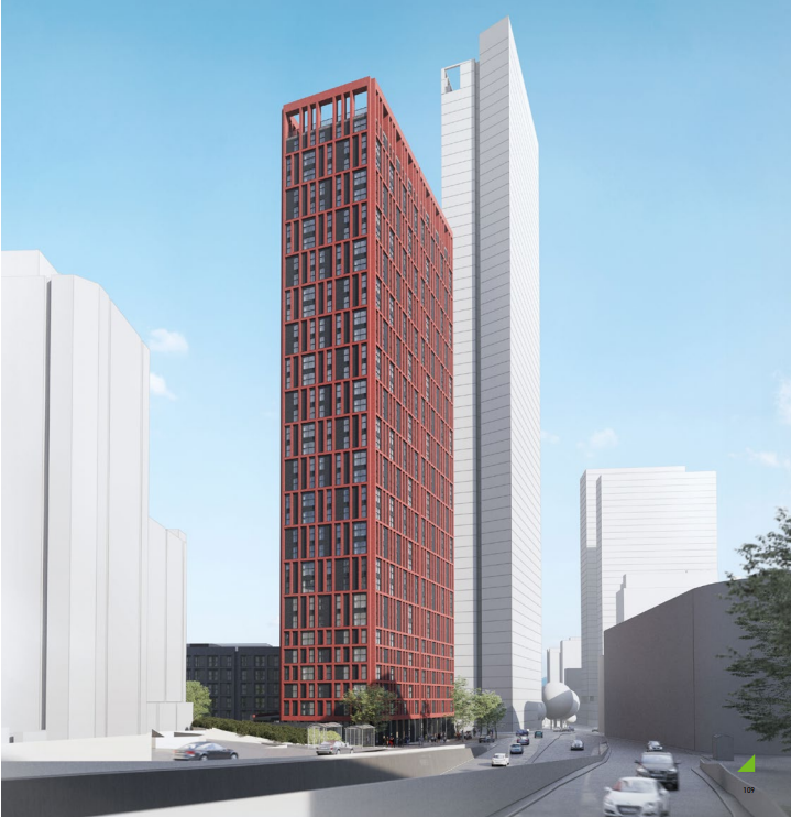 The Square: A new 110m tall for Broad Street