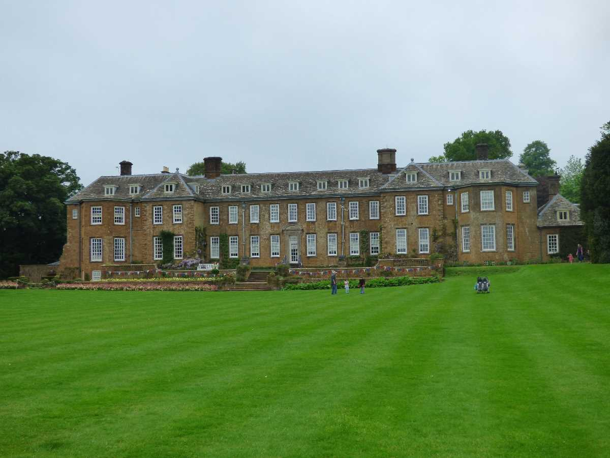 Upton House from the rear lawn