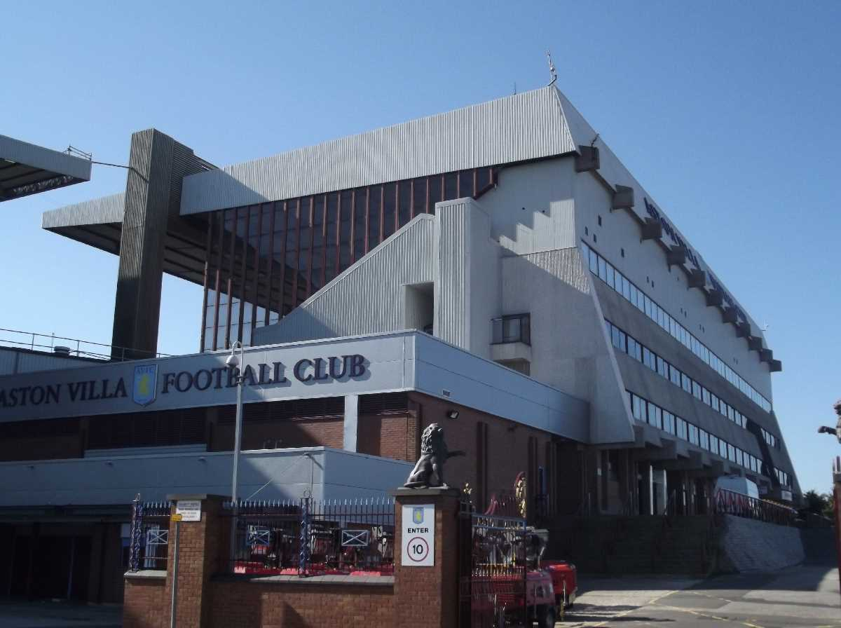 North Stand - Villa Park