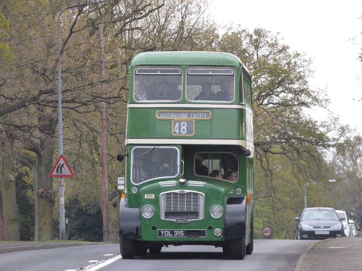 Vintage bus Alcester Road Hollywood