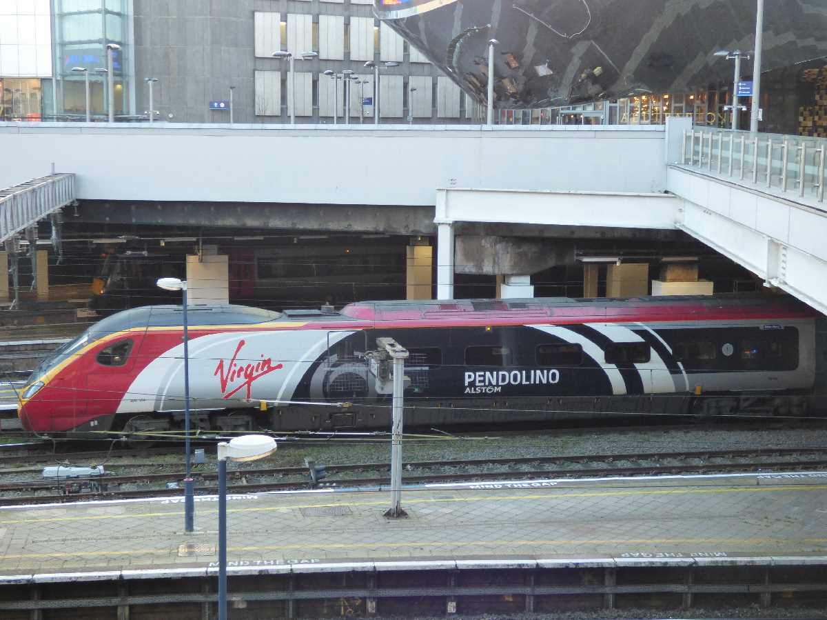 Virgin Trains Alstom Pendolino
