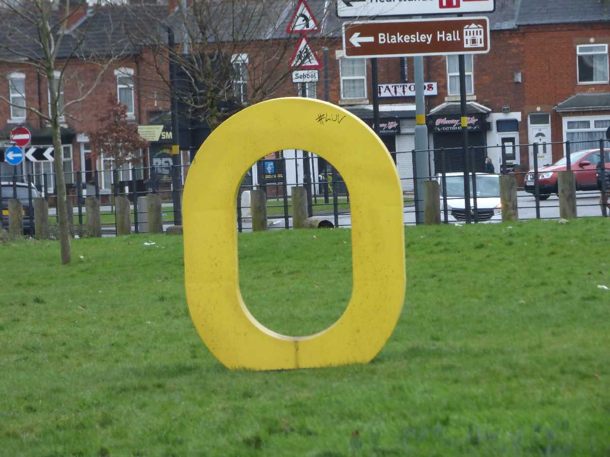 Yellow O Oaklands